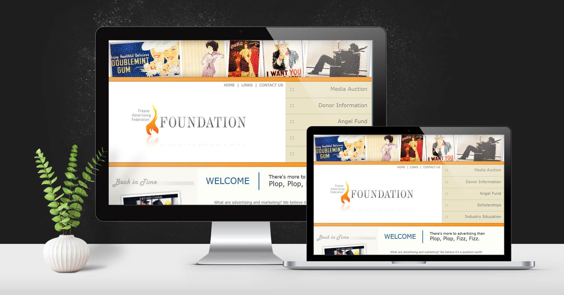 Portfolio Digital Attic Fresno Ad Foundation Devices