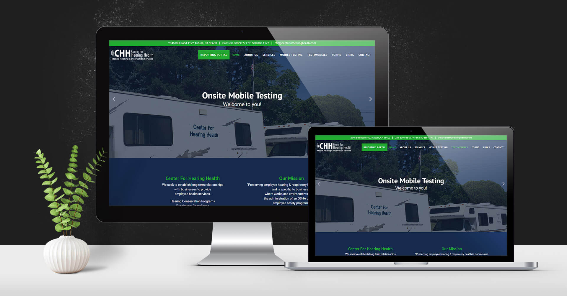 portfolio digital attic center for hearing health portfolio devices on surface