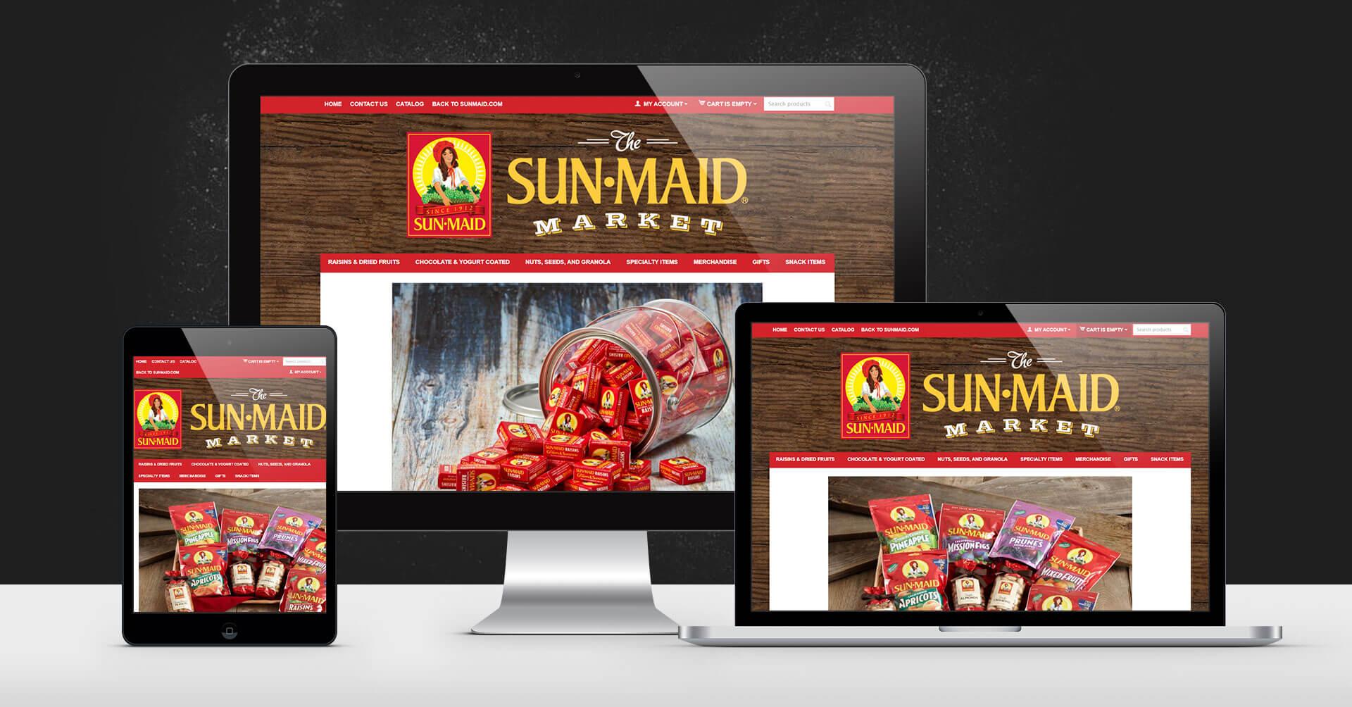 sunmaid portfolio devices on surface