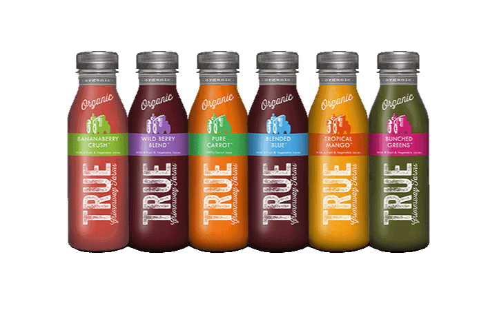 Portfolio Digital Attic True Organic Juice Rendering Juice Life Set