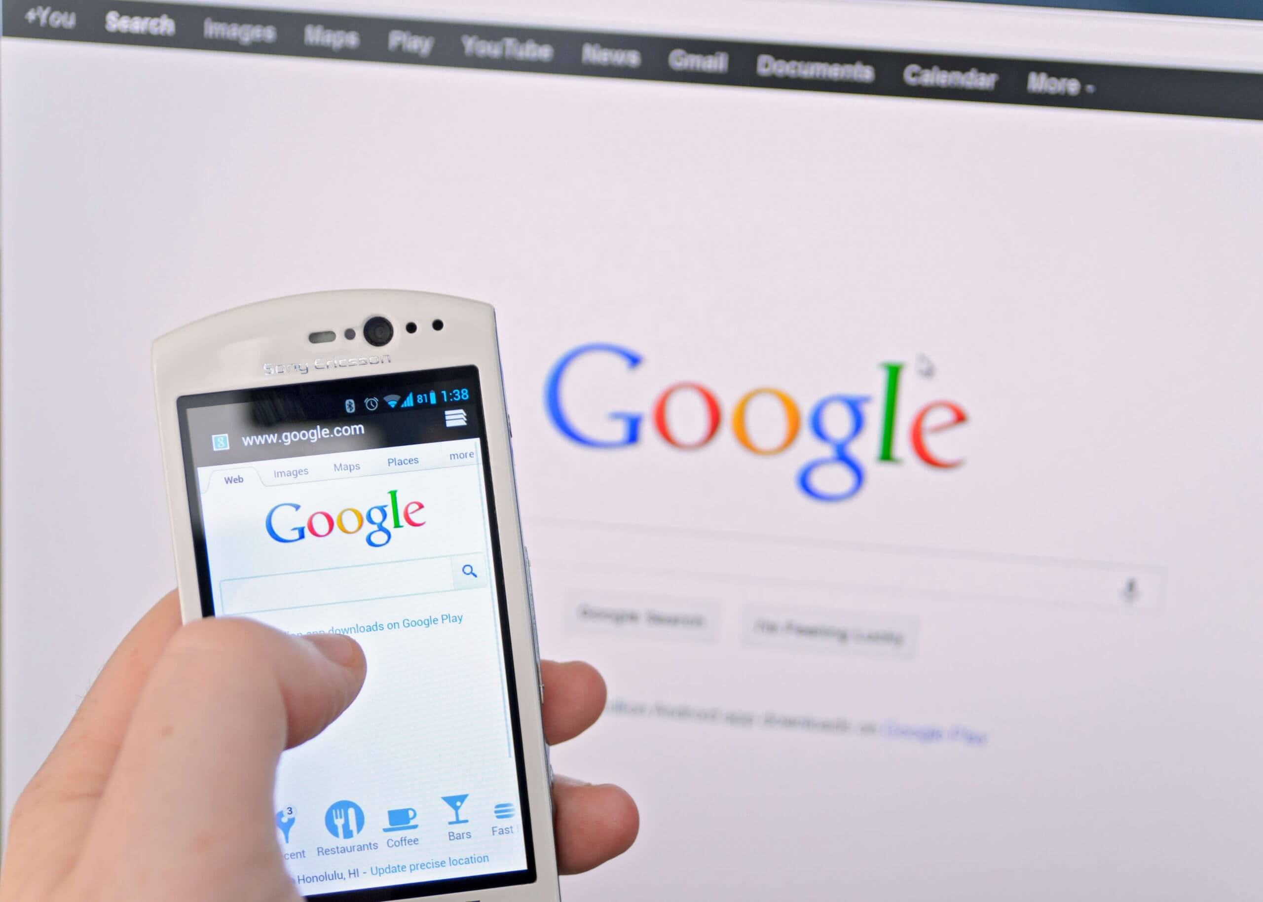 How do you rank on the first page of Google?