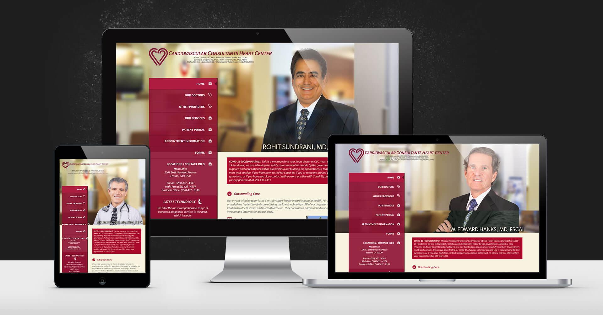 portfolio digital attic cardiovascular consultants heart center devices