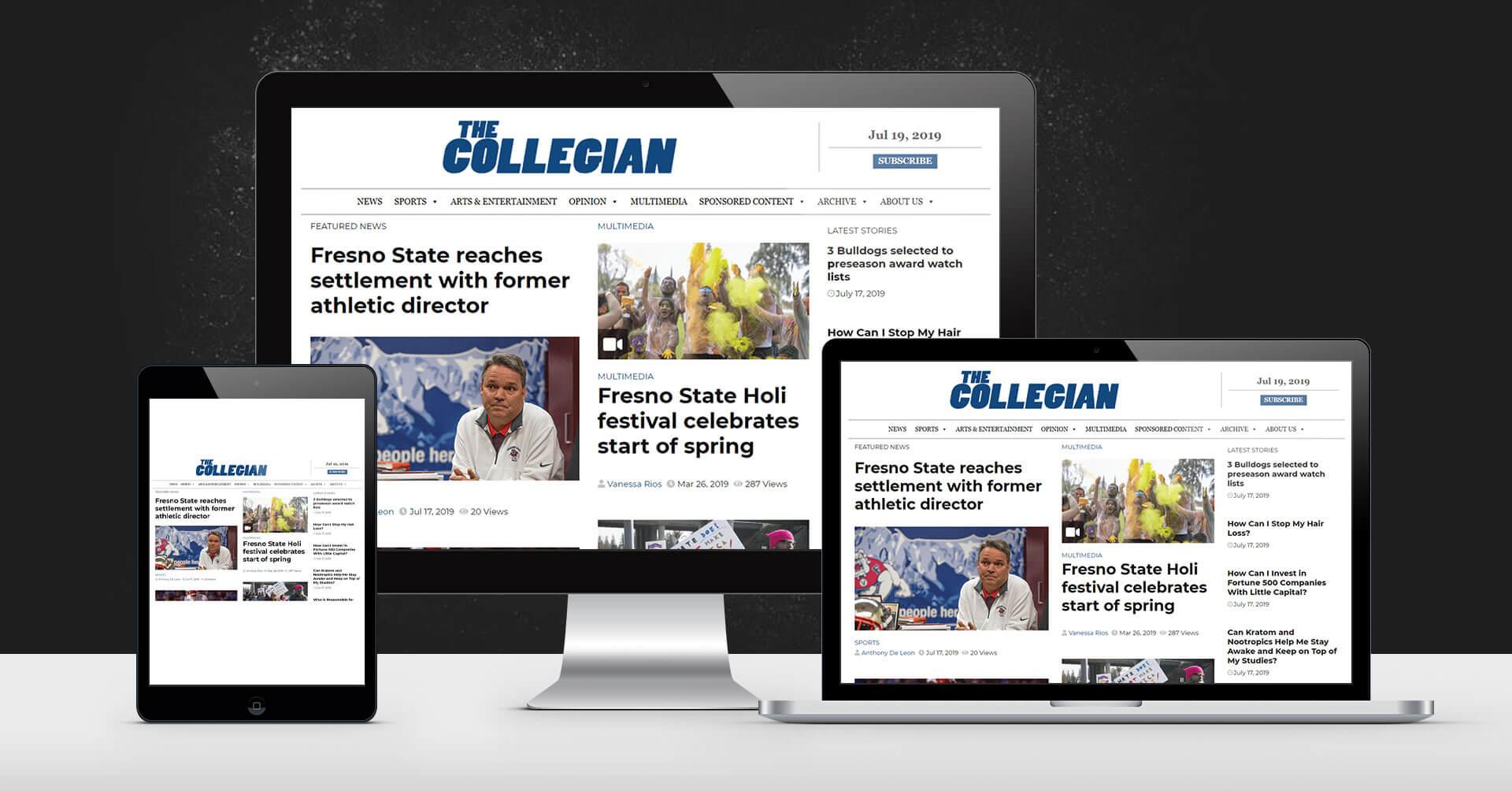 portfolio digital attic the collegian devices