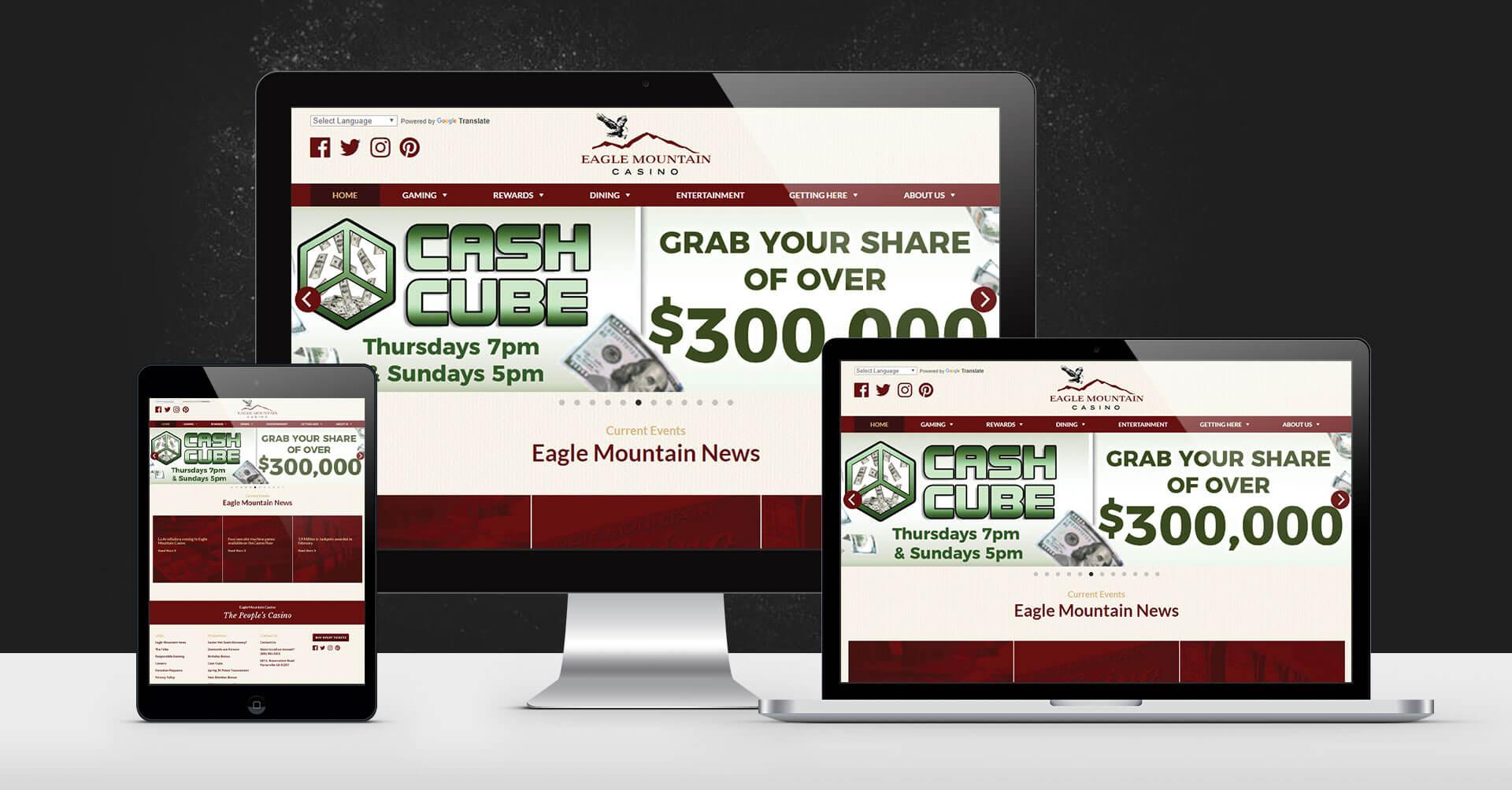 portfolio digital attic eagle mountain casino devices