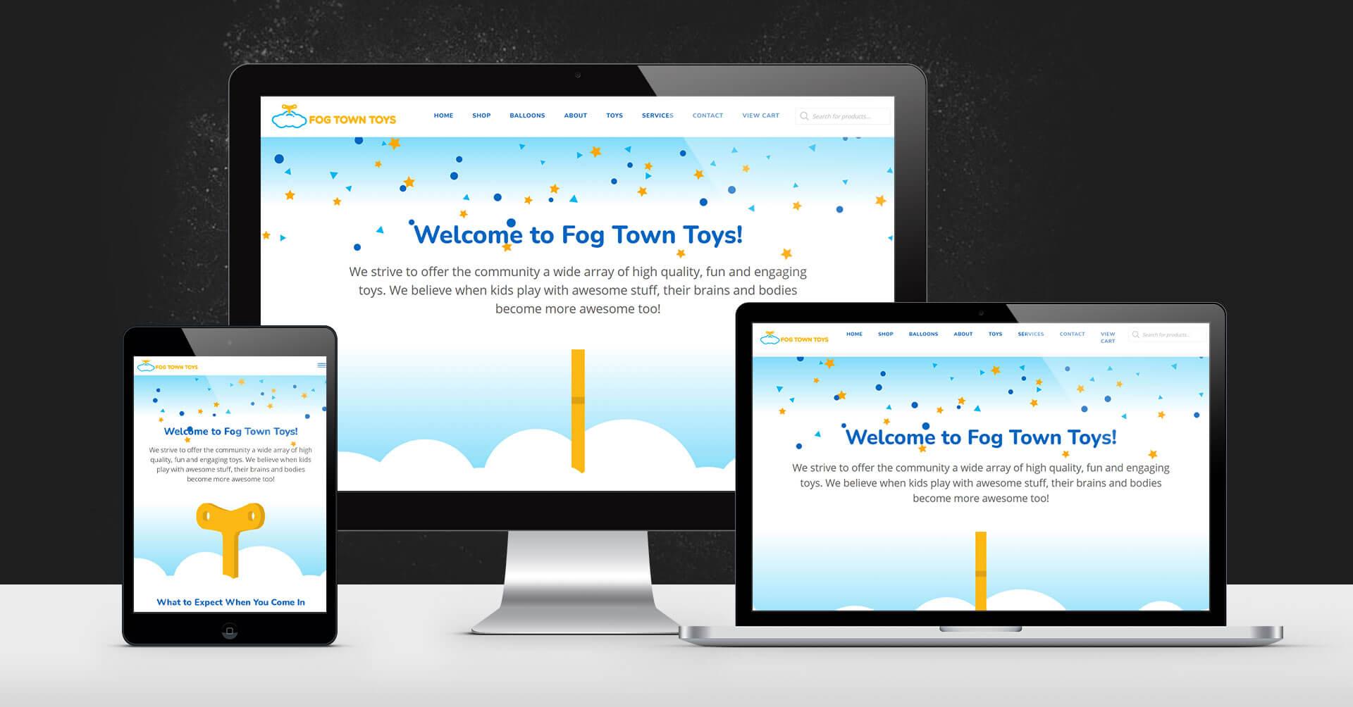 portfolio digital attic fog town toys devices