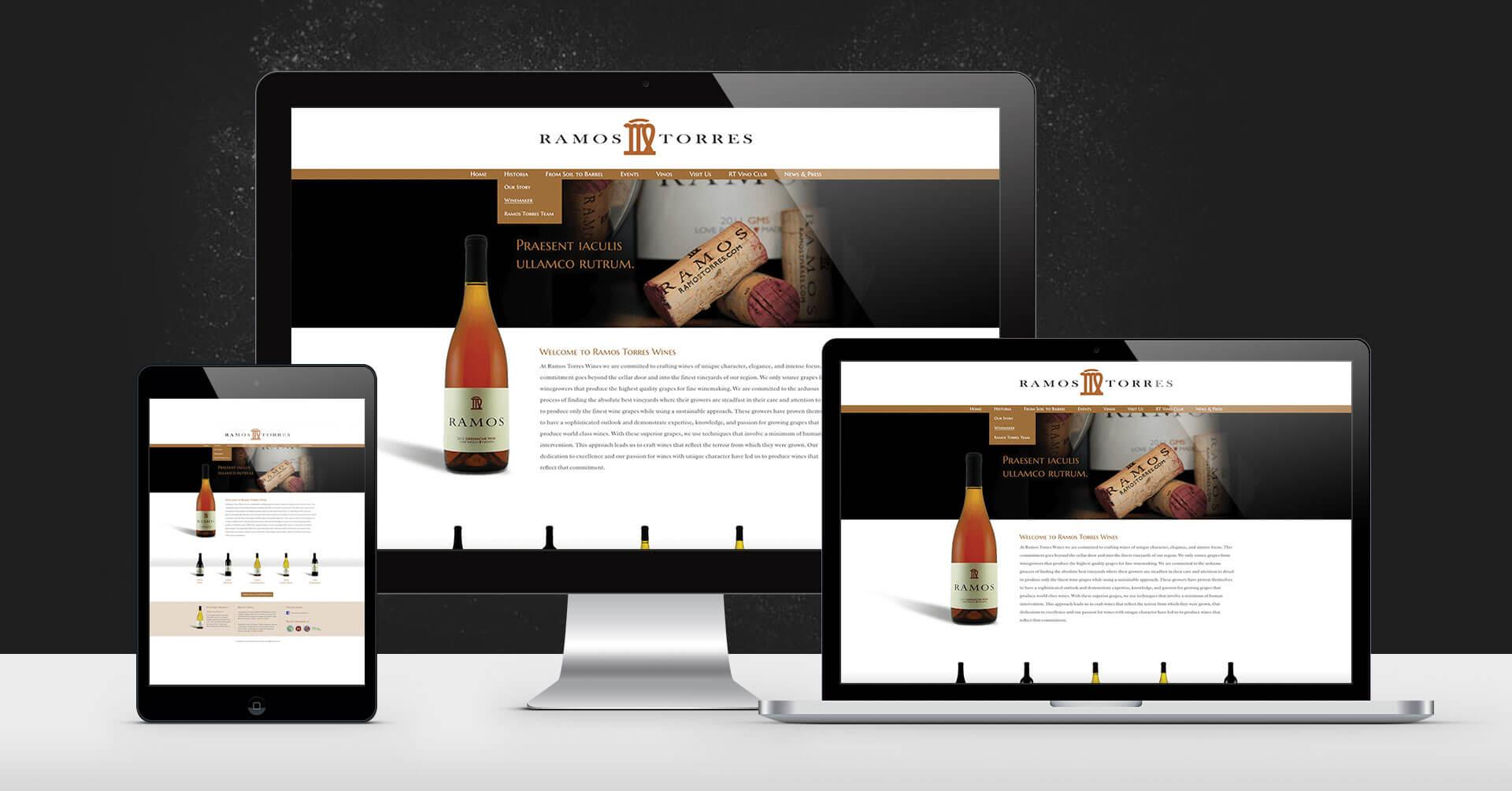 portfolio digital attic ramos torres winery devices