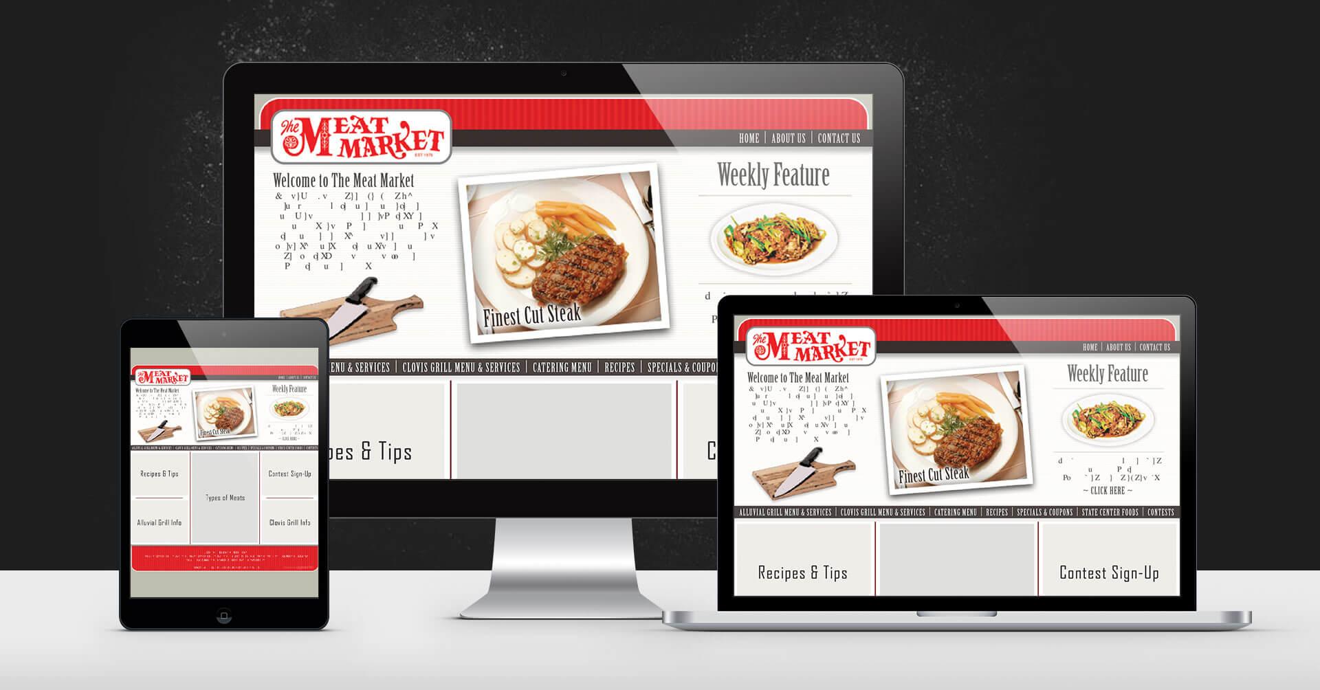 portfolio digital attic the meat market devices