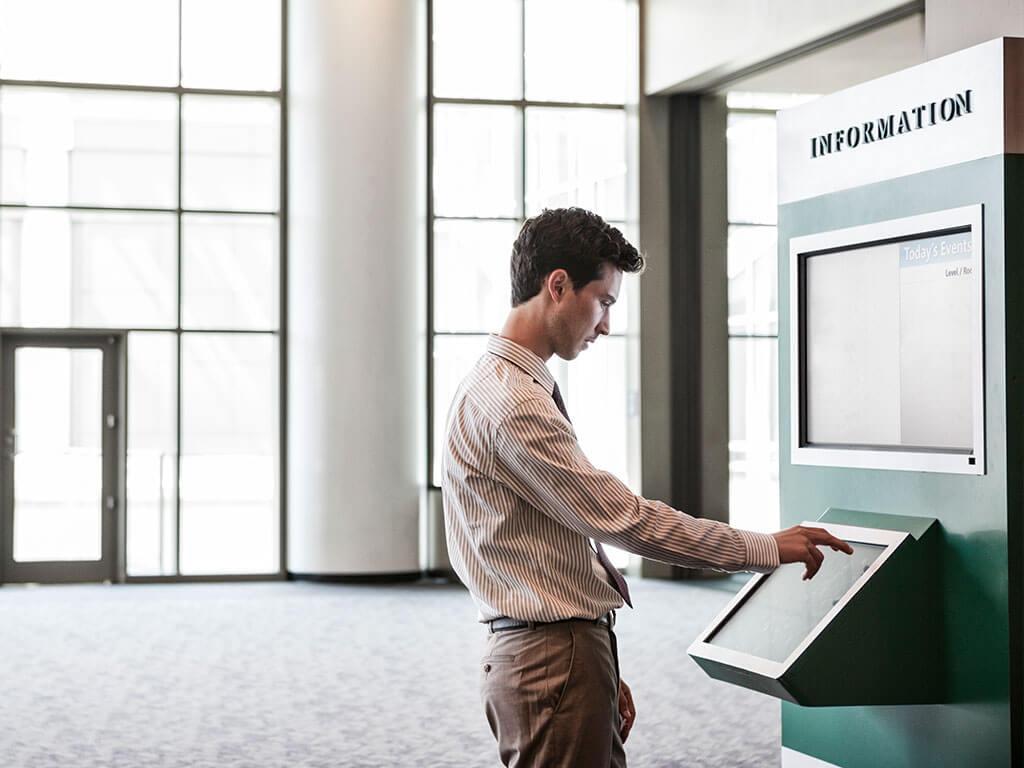 services digital attic video displays kiosks conferencing