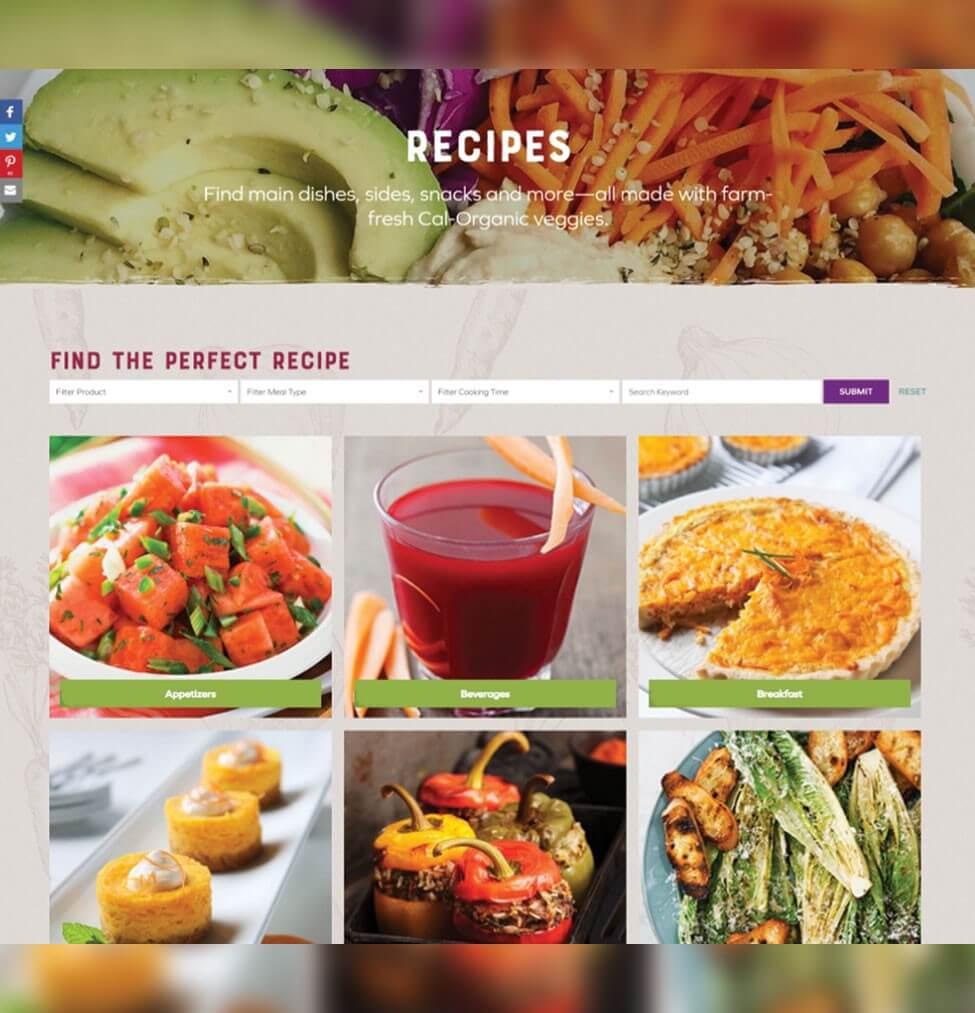 portfolio digital attic cal organic recipes galore